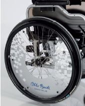 Détail chassis Fauteuil Roulant Otto Bock Innov Effect