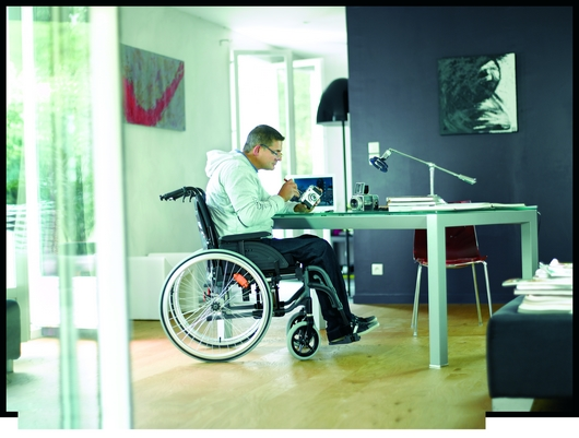 Invacare Action 4NG dossier inclinable au quotidien