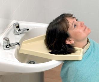 Bac à shampoing de lavabo