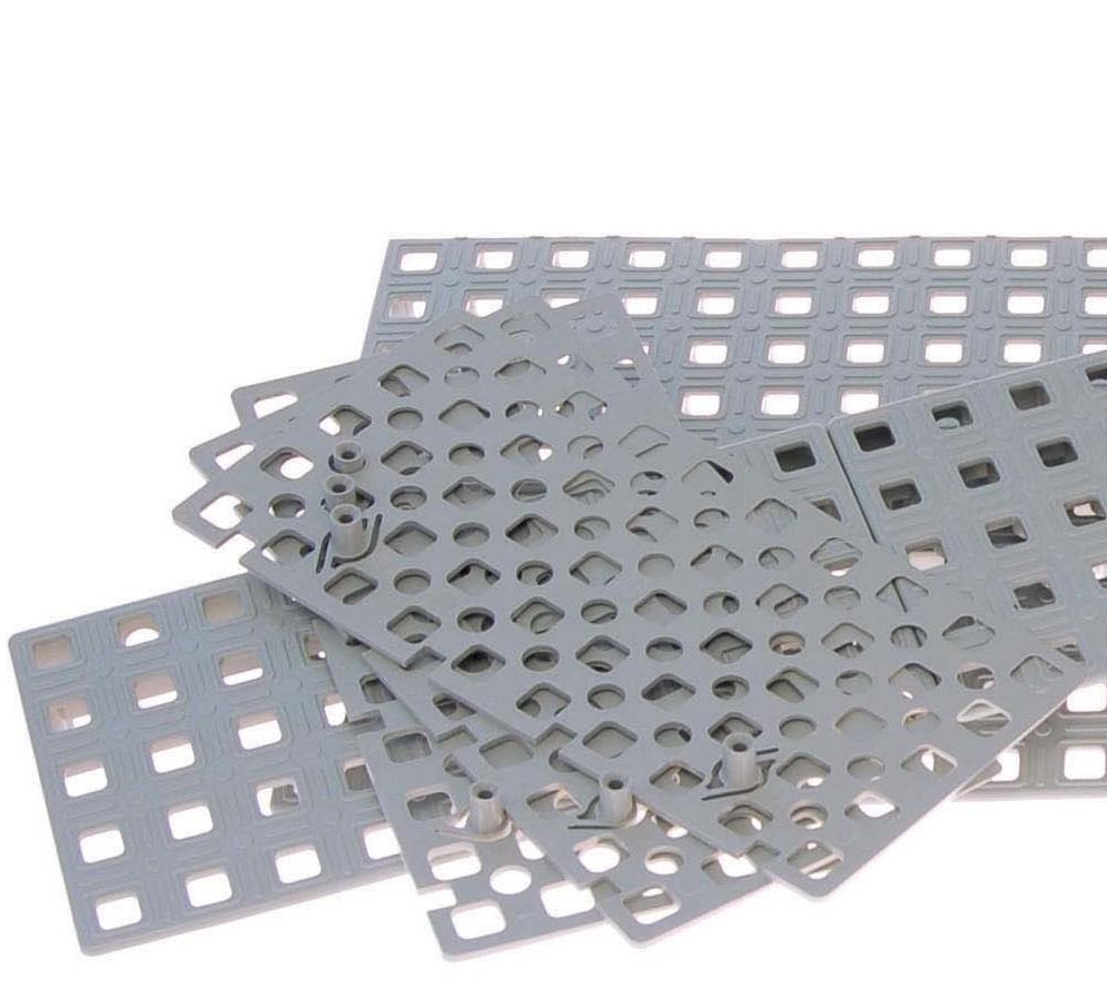 Zoom du kit de rampes modulaires