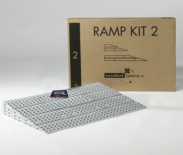 Kit numéro 2 rampes Excellent  rampe modulaire