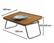 Dimensions tablette de lit Invacare PONA
