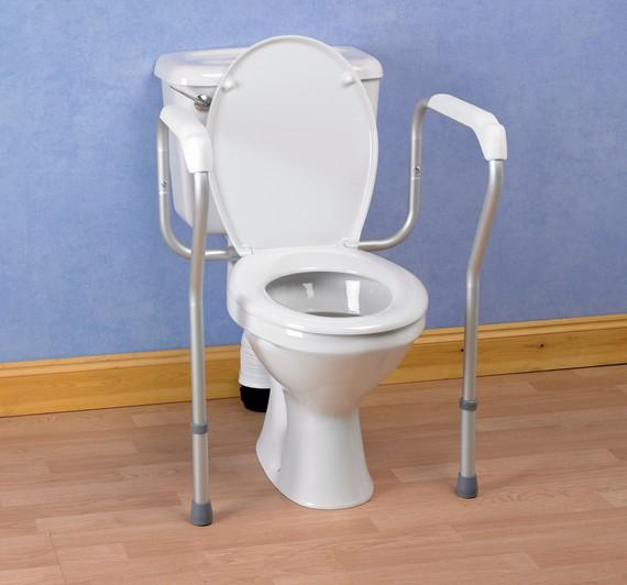 Cadre de toilette securise