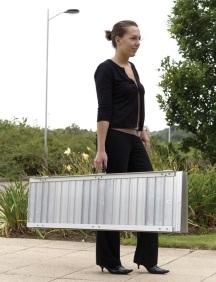 Rampe d acces valise longueur 183 cm