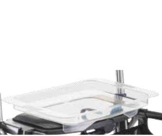 Accessoire Plateau transparent pour rollator Jazz 510 Dolomite