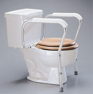 Cadre de toilettes avec accoudoirs LUMEX