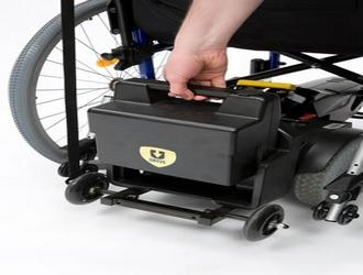 Batterie Motorisation fauteuil roulant Powerstroll U Drive