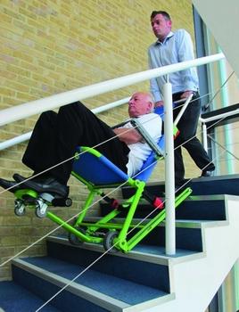 Chaise d evacuation EVACUSAFE Excel descente d escalier
