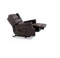 Invacare Porto fauteuil de relaxation en simili cuir chocolat