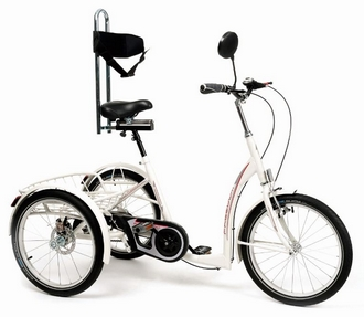 Tricycle Vermeiren Freedom Des 14 ans Blanc avec options