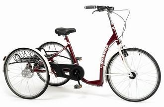 Tricycle Vermeiren Lagoon pour Adulte Bordeaux