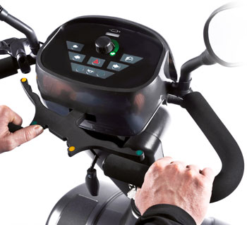Scooter S700 Sterling Sunrise systeme deconduite intuitive