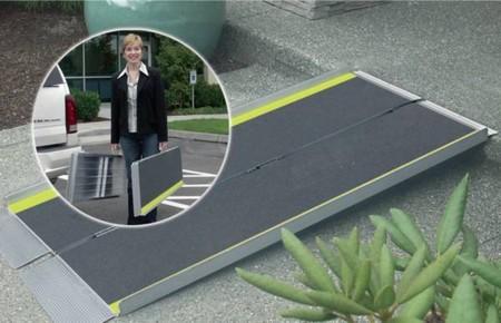 Rampe valise Advantage en aluminium robuste et legere