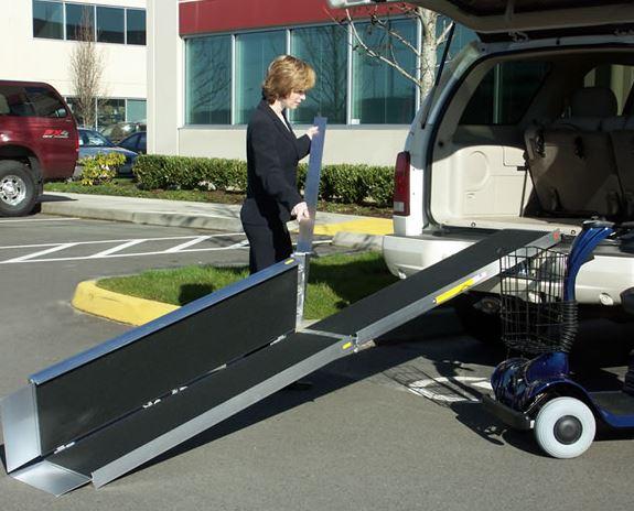 Rampe valise Advantage pliable