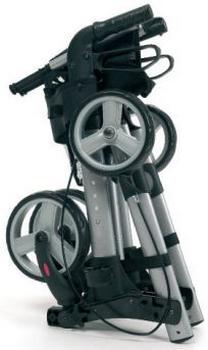 Rollator Vermeiren Quadri Light 4 roues plié