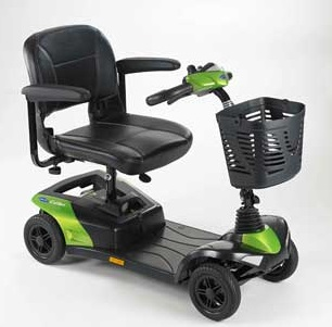 Scooter electrique Invacare 4 roues Colibri outdoor