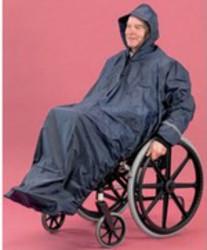 Impermeable fauteuil roulant avec manches