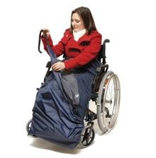 Protege-jambe double 3 en 1 pour fauteuil roulant
