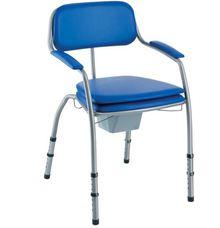 invacare omega chaise de toilette classique h450la hauteur ajustable. Black Bedroom Furniture Sets. Home Design Ideas