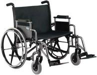 Chaise roulante pour personnes obèses