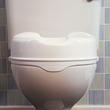 Rehausseur de toilettes 5cm vue de face