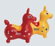 Cheval sauteur Rody rouge