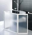 Achat ecran de douche pour viter les claboussures - Paravent douche italienne ...