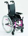 Fauteuil roulant Invacare Action 3 Junior de couleur Rose