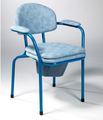 Chaise percée avec seau 9062 VERMEIREN chassie bleu