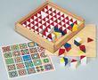 Cubes mutlicolores pour le jeu et la motricité
