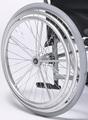 Roue avec double main courante interchangeable du fauteuil roula