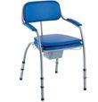 Chaise de toilettes OMEGA H450LA hauteur ajustable