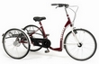 Tricycle Vermeiren Lagoon pour Adulte Bordeaux