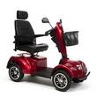 Scooter electrique 4 roues Carpo 2 XD VERMEIREN Rouge