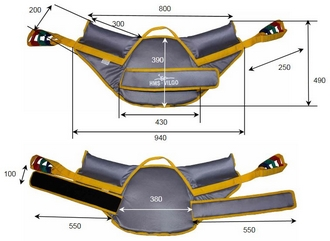 Verticalisateur Vertic 2 Compact Sangle 2 points Standard