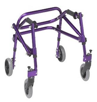photo cadre de marche enfant nimbo T1 violet