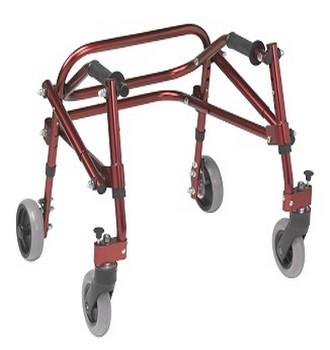 photo cadre de marche enfant nimbo taille 2 rouge