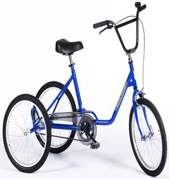 Photo Tricycle Rupiani Tonicross Basic Bleu