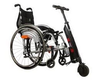 La Cinquième roue Light Up modèle fauteuil pliant monté