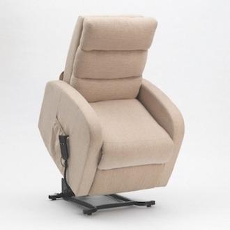fauteuil releveur jade tissu beige