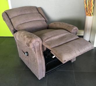 fauteuil releveur renaissance microfibre Taupe 2