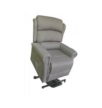 fauteuil releveur renaissance 2 moteurs tissu gris