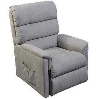 fauteuil releveur perle tissu gris