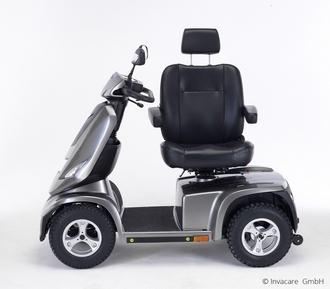 Scooter electrique 4 roues Invacare Cetus profil