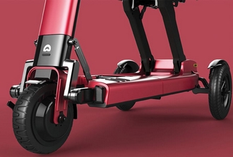 Scooter pliant Relync R1 Rouge