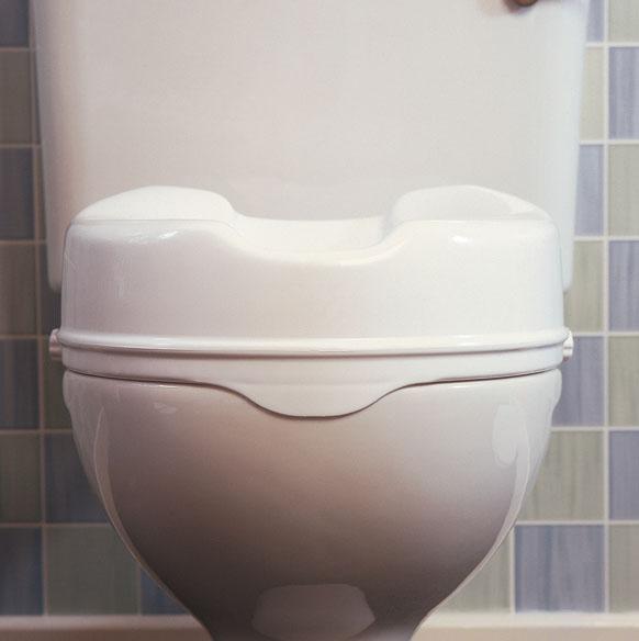 Rehausseur de toilettes vue de face