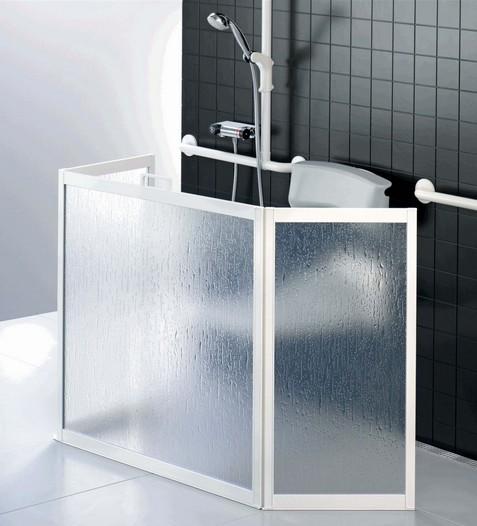 Ecran de douche portable 3 panneaux