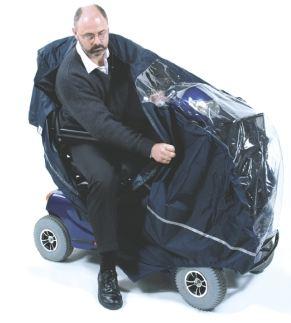 Cape pour scooter electrique