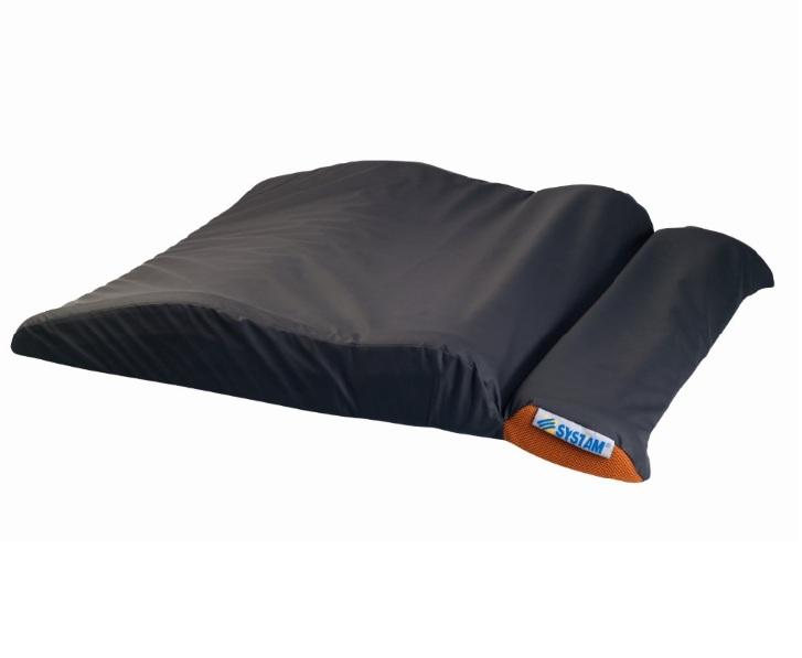 Talonniere fond de lit vue en position de decharge partielle
