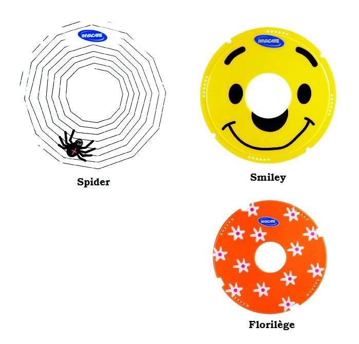 Flasque Action 3 Junior : Spider  Smiley  Florilège